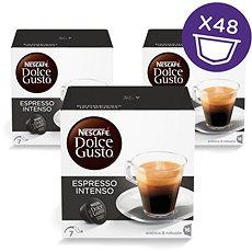 Nescafé Dolce Gusto Espresso Intenso 16 ks × 3 - Kávové kapsuly