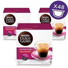 Nescafé Dolce Gusto Espresso Decaffeinato Red 16 ks × 3 - Kávové kapsuly
