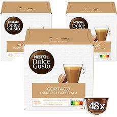 Nescafé Dolce Gusto Cortado 16 ks × 3 - Kávové kapsuly