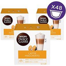 Nescafé Dolce Gusto Latte Macchiato 16 ks × 3 - Kávové kapsuly