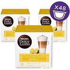 Nescafé Dolce Gusto Latte Macchiato Vanilla 16 ks × 3 - Kávové kapsuly