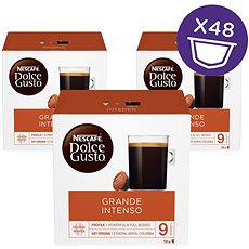 Nescafé Dolce Gusto Cafe Grande Intenso 16 ks × 3 - Kávové kapsuly