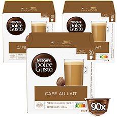 Nescafé Dolce Gusto Au Lait 30 ks × 3 - Kávové kapsuly