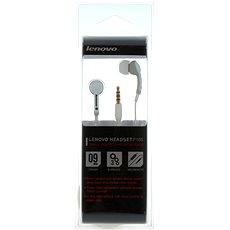 Lenovo in ear headset P165 biely - Slúchadlá s mikrofónom