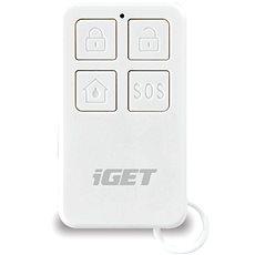 iGET SECURITY M3P5 - diaľkové ovládanie (kľúčenka) na obsluhu alarmu - Diaľkový ovládač