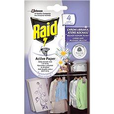 RAID proti moliam aktívny záves čerstvé kvety 4 ks - Odpudzovač hmyzu