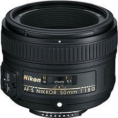 NIKKOR 50mm f/1,8G AF-S - Objektív