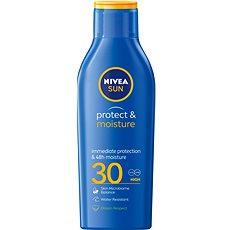 NIVEA SUN Protect & Moisture SPF 30 Lotion 200 ml - Mlieko na opaľovanie