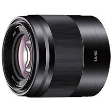 Sony 50 mm F1,8 čierny - Objektív