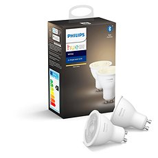 Philips Hue White 5,5 W GU10 súprava 2 ks - LED žiarovka