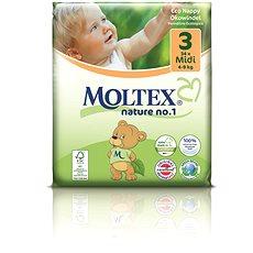 MOLTEX nature no. 1 Midi veľ. 3 (34 ks) - Eko plienky