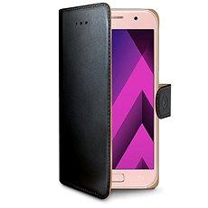 CELLY Wally pre Samsung Galaxy A3 (2017), čierne - Puzdro na mobil