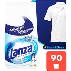 LANZA Fresh & Clean Biela 6,3 kg (90 praní) - Prací prášok