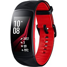 Samsung Gear Fit2 Pro Black Red - Fitness náramok