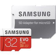 Samsung microSDHC 32 GB EVO Plus Class 10 UHS-I + SD adaptér - Pamäťová karta
