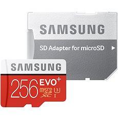 Samsung microSDXC 256 GB EVO Plus Class 10 UHS-I + SD adaptér - Pamäťová karta