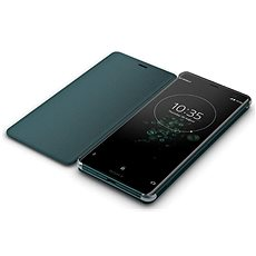 Sony SCSH70 Style Cover Stand Xperia XZ3, Green - Puzdro na mobil