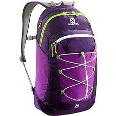 Salomon Contour 25 Cosmic purple/aster purple/gr - Športový batoh