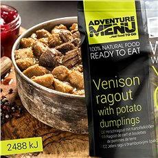 AdventureMenu - Jelenie ragú so zemiakovými špalíčkami - Trvanlivé jedlo