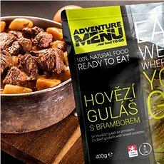 AdventureMenu - Hovädzí guláš so zemiakmi - Trvanlivé jedlo