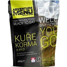 AdventureMenu - Kurča Korma s ryžou - Trvanlivé jedlo