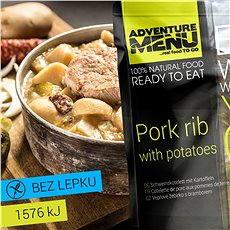 AdventureMenu - Bravčové rebierko so zemiakmi - Trvanlivé jedlo