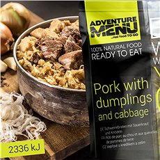 AdventureMenu - Bravčové so zemiakovými špalíčkami a kapustou - Trvanlivé jedlo