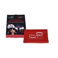 Kine-MAX Pro-Resistance Band - Level 2 - Červená (Stredný) - Posilňovacia guma