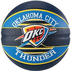 Spalding NBA team ball Oklahoma City Thunder vel. 7 - Basketbalová lopta