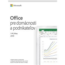 Microsoft Office 2019 Home and Business SK (elektronická licence) - Elektronická licence