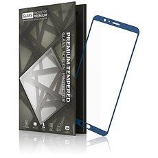 Tempered Glass Protector Rámikové pre Honor View 10 Modré - Ochranné sklo