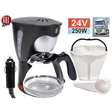 ALLRIDE Kávovar 24 V s konvičkou na 6 šálok - Kávovar do auta