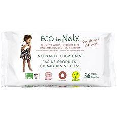 NATY Sensitive (56 ks) - Eko vlhčené utierky