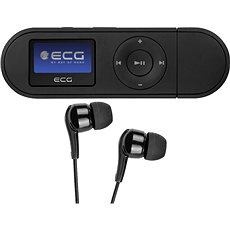 ECG PMP 20 4 GB Black - MP3 prehrávač