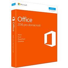 Microsoft Office 2016 pre domácnosti CZ - Kancelárska aplikácia