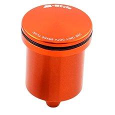 M-Style nádobka 205 na brzdovú kvapalinu – oranžová - Nádobka na brzdovú kvapalinu