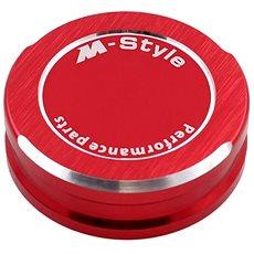 M-Style viečko nádobky brzdovej kvapaliny – červené - Viečko nádobky brzdovej kvapaliny