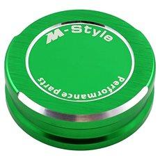 M-Style viečko nádobky brzdovej kvapaliny – zelené - Viečko nádobky brzdovej kvapaliny