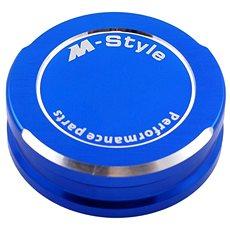 M-Style viečko nádobky brzdovej kvapaliny – modré - Viečko nádobky brzdovej kvapaliny