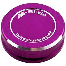 M-Style viečko nádobky brzdovej kvapaliny – fialové - Viečko nádobky brzdovej kvapaliny