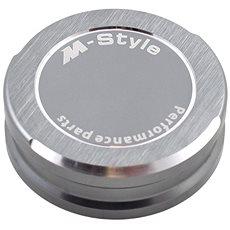 M-Style viečko nádobky brzdovej kvapaliny – titánovo-sivé - Viečko nádobky brzdovej kvapaliny