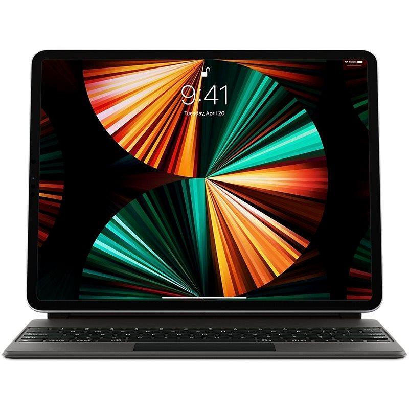 "Apple Magic Keyboard iPad Pro 12,9"" 2021 čierna – CZ - Klávesnica"