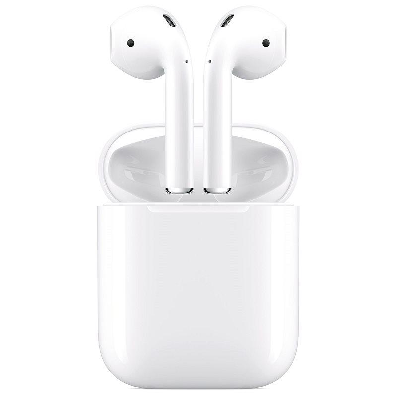 Apple AirPods 2019 bezdrôtovým nabíjacím puzdrom - Bezdrôtové slúchadlá