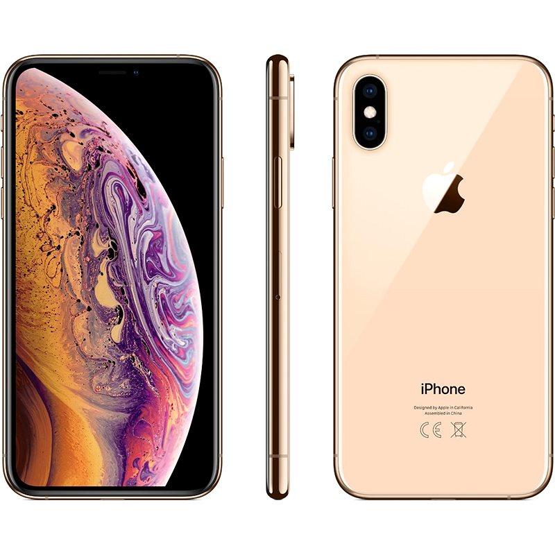 iPhone Xs 512 GB zlatý - Mobilný telefón