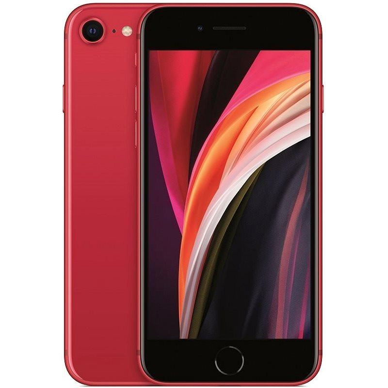 iPhone SE 64 GB červený 2020 - Mobilný telefón