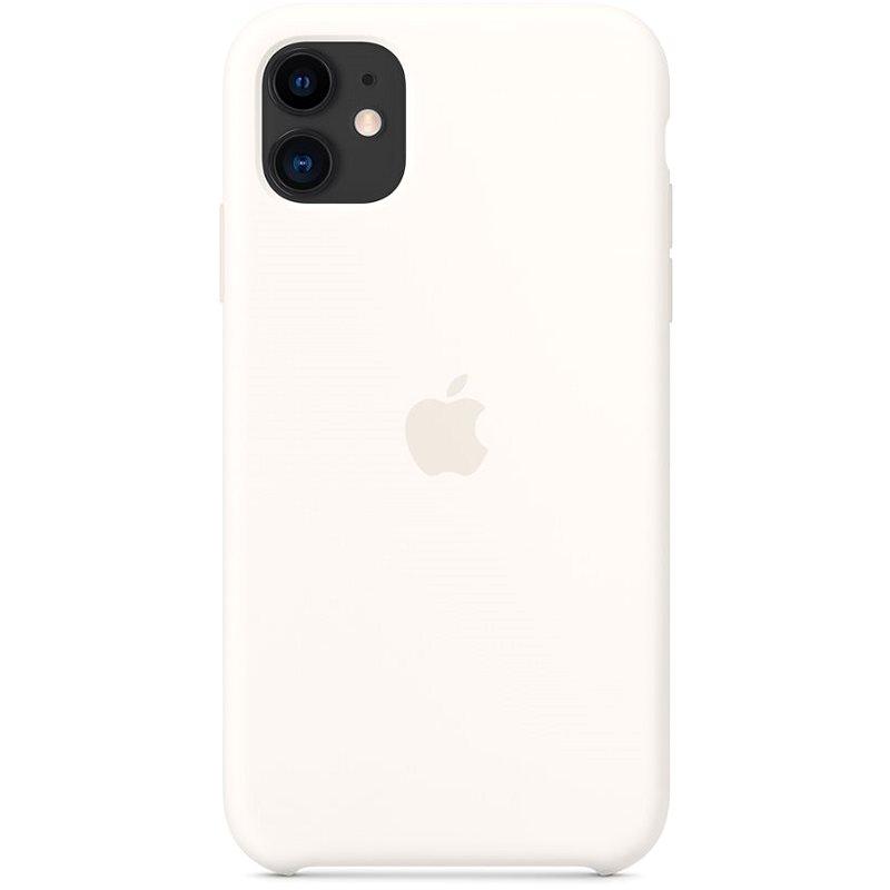 Apple iPhone 11 Silikónový kryt biely - Kryt na mobil
