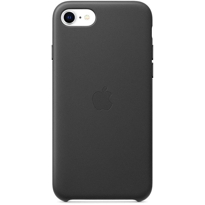 Apple iPhone SE Kožený kryt čierny - Kryt na mobil