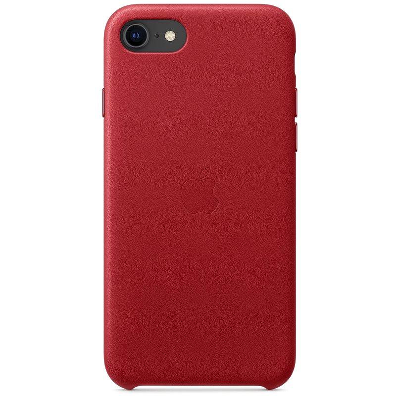 Apple iPhone SE Kožený kryt (PRODUCT) RED - Kryt na mobil