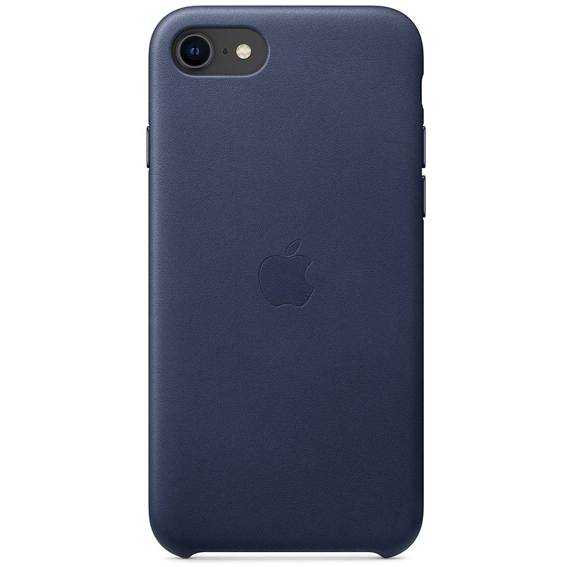 Apple iPhone SE Kožený kryt polnočne modrý - Kryt na mobil