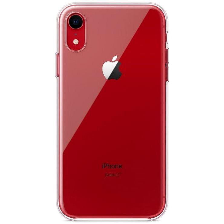 iPhone XR priehľadný kryt - Kryt na mobil